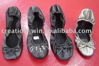 folding dance shoes