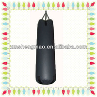 sport fitness leather boxing/punching heavy sand bags