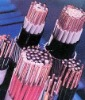 copper- conductor PVC insulated, thin steel wire armoured and PVC sheathed control cable
