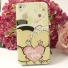 Hug me Bear cellphone hard back cover case (4 / 4s) (new)