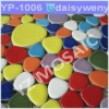 colorful porcelain mosaic tiles/pebble mosaic tile,swimming pool mosaic