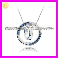 Wholesale Austrian Crystal Lucky Rings Necklace XL-670