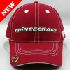 design 6 panel low profile 3D embroidered letter baseball cap