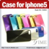 Factory Price !! 2012 new arrival Metal shell Case for iphone5,Back Cover Case
