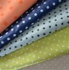 dot polyester/nylon print fabric for dress garment