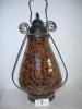 antique imitation home decoration elegant mosaic glass lamp
