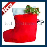 2011 newest Christmas stocking gift folding bag