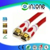 High quality gold plated HDMI to HDMI 1.4 version cable Full HD 1080P resulation