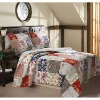 2012 hot sale Cotton fabric 3-piece quilt cover