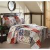 2012 hot sale Cotton fabric 3-piece quilt cover