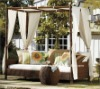 garden furniture - patio sofa daybed With Canopy