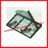 sunglass display tray 'Holding 12pcs with transparent PVC cover'