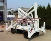 electric and diesel engine articulated boom x lift table