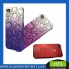 PC case with Plating radium vulture for iphone 4