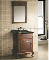 pine wood bathroom cabinets /Solid wood Y9002