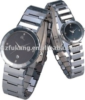 tungsten fashion couple watch