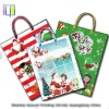 Popular different christmas items handmade gift bag with paper handle