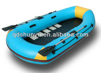2012 best sale CE pvc material 3 passengers Inflatable fishing boat for sale