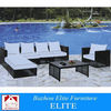 outdoor wicker garden pe sofas EH-092s
