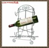 new design metal wine rack, wine holder