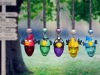 2012 popular tourist gifts in bird shape of 3ml with color