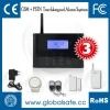 2012 NEW GSM+PSTN alarm system with LCD display and touch keypad (007M2D)
