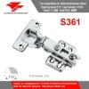S361 Concealed Hinge Stainless Steel Door Hinge
