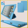 Newest leather cover for Ipad mini tablet folding case