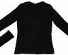 black Ladies' t-shirt