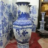 large tall ceramic flower vase RYUZ01