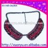make fake collar beaded collar necklace