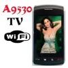 BlackBerry 9530 A9530 Quad-band TV Free, WIFI, Dual sim dual standby, QWERTY, FM radio