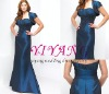 2010 Blue Taffeta Evening Gown(JH025)