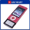 Brand new Quad Band TV mobile phone W008 Red #5073