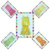 CHILDREN'S SILK DYED OR PRINTED GARMENT & APPAREL & SUITS & CLOTHING & CLOTHES