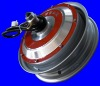 Electric motorcycle motor