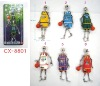 Alloy figure The Ghost Team (basketball) Key Chains CX-8801
