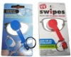 eyeglass cleaner swipes TV product