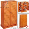 Double door CD/DVD cabinet/wooden cabinet