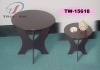 Round end table,table,wooden table