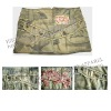 Ladies ' cotton skirt with como print ,summer skirts, mini skirts,short skirt