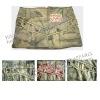 Ladies ' cotton skirt with como print ,summer skirts, mini skirts,short skirt