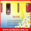 SK530+JAVA+bluetooth +dual camera +quad band+TV+FM radio Mobile