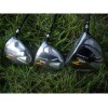 high quality R7 CGB driver + 3# wood + 5# Fairway Woods golf club set stiff