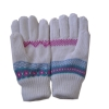 Ladies' Jacquard knitted glove