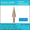 HP shank 320 mesh fine grit dental lab sintered diamomd carving tools for gemstone