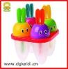 Cute rabbit shape colorful popsicle mould