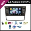 2.3 Android wifi 3g In Dash universal car dvd player car pc special for BMW with gps bluetooth