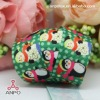 new arrival high quality heat transfer cartoon christmas party decoration printed grosgrain ribbon cheap wholesale
