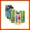 Jimmy Caricature Starry Night Luminous Back Cover Case for iphone 4/4G/4S(HA01)